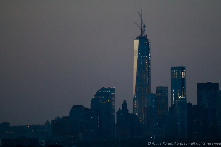 Freedom Tower at Dusk