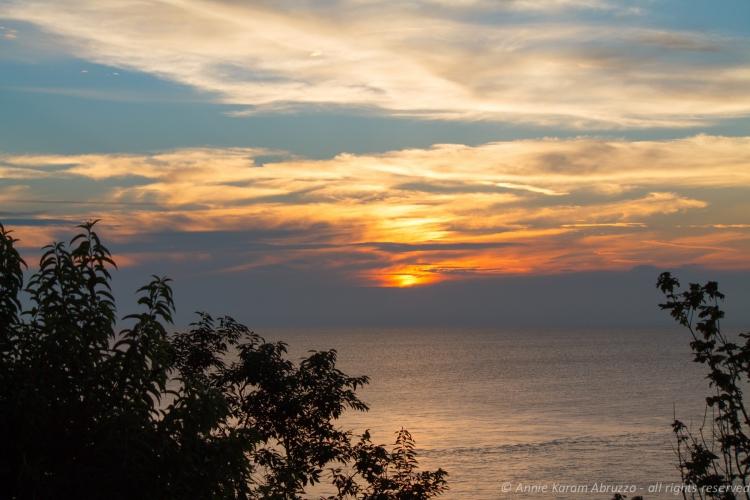 Sunset on the Sound